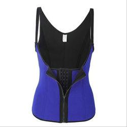 De Kleding van de Vorm van het Lichaam van de Ritssluiting van het Hof van de Trainer van de taille past het Sexy Vest van de Trainer van de Aanpassing van het Ondergoed van het Lichaam van het Vermageringsdieet van het Verlies van het Gewicht aan