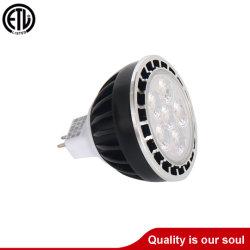 실외 정격 고에너지 절약형 6W 스팟 조명 LED MR16