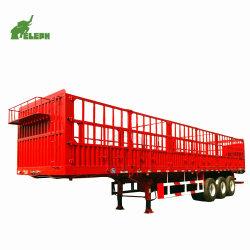Nuovo e di animali di trasporto della rete fissa semi rimorchio utilizzato di alta qualità