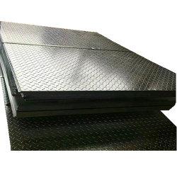 Лучшая цена Ms углеродистой стали Tear Drop клетчатого S275JR SS400 A36 Q235 Клетчатого стальную пластину
