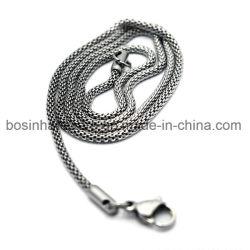 Malha de Aço Inoxidável de jóias bracelete correntes