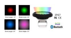 Dimmbares Bluetooth-RGBW-LED-Spotlight AR111/PAR36