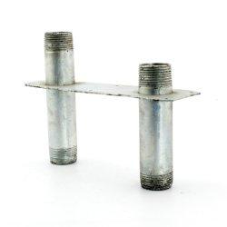 tôle formant la perforation de la soudure de pièces de flexion avec revêtement poudré
