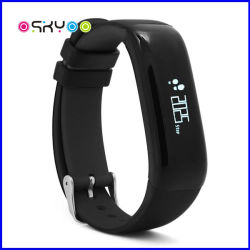 IP67 imprägniern intelligenten Bildschirmanzeige-Blutdruck-Inner-Pulsschlag-Monitor des Armband-OLED