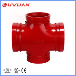 Traversa duttile del tubo del ferro per il sistema di lotta antincendio