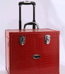 Boîte de dialogue Nouvelle tige de traction multicouche étanche Case beauté cosmétiques de grande capacité de cas