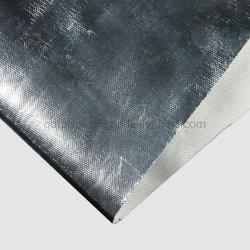 Folha de alumínio com o material de isolamento térmico de tecido de fibra de vidro