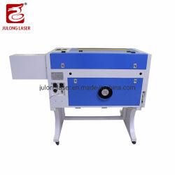 Guias lineares CO2 máquina de gravação a laser com feltro Madeira de couro
