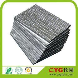 XPE doublée de mousse d'aluminium de matériau isolant réfléchissant