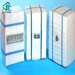 Material refractario 1430c Módulo de fibra de Cerámica de zirconio con anclaje para el horno aislamiento térmico, Bloque Mineral/Módulo para la refinación y petroquímica