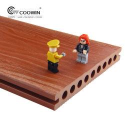 200x25mm barata medioambientalmente Exterior compuesto de techado de madera hueca de plástico de WPC