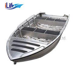 Persoon 3.8m5.2m van Ilife 4-8 de Boot van het Aluminium van de Prijs van de Boot van het Aluminium voor de Prijs van de Vissersboot van de Boot van de Snelheid van de Boot van de Motor van de Visserij