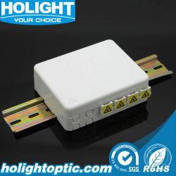 4 ports FTTX Plaque de face de DIN