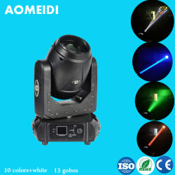 Feixe de 100 W LED Spot Fase de movimentação de luzes de casamento
