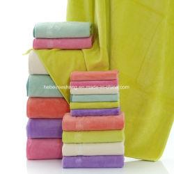 Красочные оптовой ткань из микроволокна банными полотенцами отель автомобилей салфетку из микроволокна
