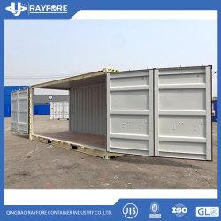 OEMはカスタマイズされたRalカラー20FT側面の開始輸送箱を整備する