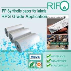 Documento sintetico degli autoadesivi sensibili alla pressione per MSDS stampabile rotativo UV