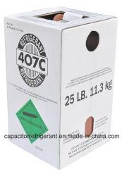 99,8% de pureté et de Bon Prix du gaz réfrigérant R407