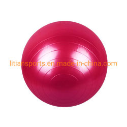 Custom Logo를 가진 PVC Rubber Exercise Ball Logo Printing Gymnastic Yoga Ball
