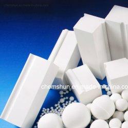 Doublure de meulage de la brique en céramique de Ball Mill de sanitaires de l'industrie