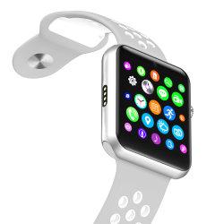 Smartwatch Téléphone Bluetooth support téléphonique de 1,54 pouce de regarder la carte SIM Anti-Lost téléphone GSM de rappel de notification