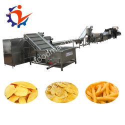 Dieselkartoffelchips, welche die Maschine/Chips bilden Maschine frische Kartoffel braten