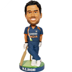 Polyresin Different Player Figurines Bobble Head Stat.