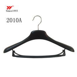 Image de marque personnalisée en usine de plastique bon marché haut de chandails costumes Hanger Custom