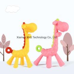 Reizendes Spielzeug-wenig Rotwild-Training Teether ungiftiges Silikon Teether Spielzeug für Baby