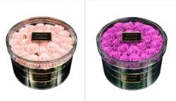 L'acrylique Rose Boîte, le cas d'affichage
