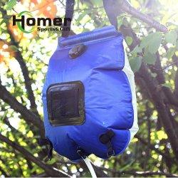 屋外旅行洗浄キャンプ浜の水泳のための携帯用太陽シャワー袋20L