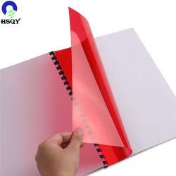 堅く多彩なPVC A4サイズの表紙PVC 0.15mm透明なA4結合カバー