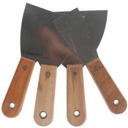 Alto strumento Polished della lama di mastice della costruzione con la maniglia di legno