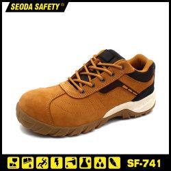 Cuoio di vendita caldo di Nubuck nessun pattini di sicurezza del metallo/calzature di sicurezza
