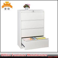 Fas-003-4D Oficina de acero de revestimiento en polvo de metal en el pecho 4 Cajones muebles Armario de almacenamiento de la presentación