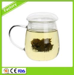 Vidrio de alta calidad resistentes al calor de taza de té Tetera