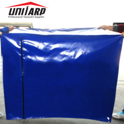 PVC-Abdeckplatte Für Planenpalette mit Reißverschluss