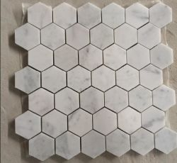 Китай на заводе Bianco каррарского мрамора белого цвета мозаики плитки на пол и стены
