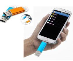 سعر جيد هاتف ذكي محمول OTG USB محرك الأقراص المحمول USB الخاص بالكمبيوتر