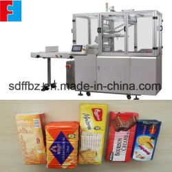 Au cours de l'enrubanneuse automatique de biscuit Overwrapping Machine