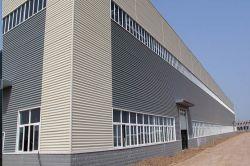 Structure en acier préfabriqués pour guérir les fabricants de salle de Société de l'entrepreneur