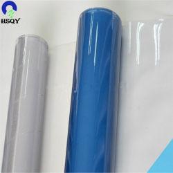 Verre doux et souple étanche clair PVC transparent Film pour une table à manger de couvrir un chiffon de rouleau