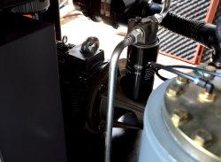 二重着色されたプラスチック注入機械のための省エネねじ空気圧縮機