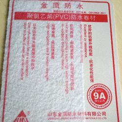 Costruzione impermeabile del PVC del materiale dello scantinato del tetto