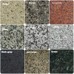 G681/G682/G603/G654/G664 China barata de granito de piedra losa de piedra seca, con el diseño