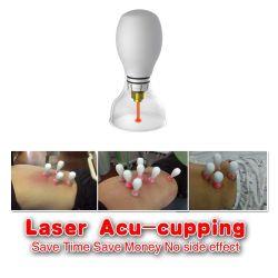 Acupuntura del laser que ahueca con el caso de aluminio en dispositivo personal del masaje del cuidado médico de la terapia física