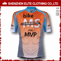 Los hombres personalizada bicicletas de desgaste de Jersey de manga corta