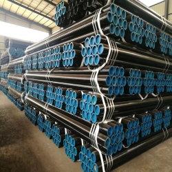 Tubo d'acciaio senza giunte A106 Gr B Sch 40 del carbonio laminato a caldo standard del fornitore ASTM in azione