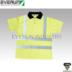 ER8251 Polo shirt réfléchissant haute visibilité chemise de travail