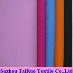100% de poliéster Sarjado Tecido Taslon para tecido de vestuário